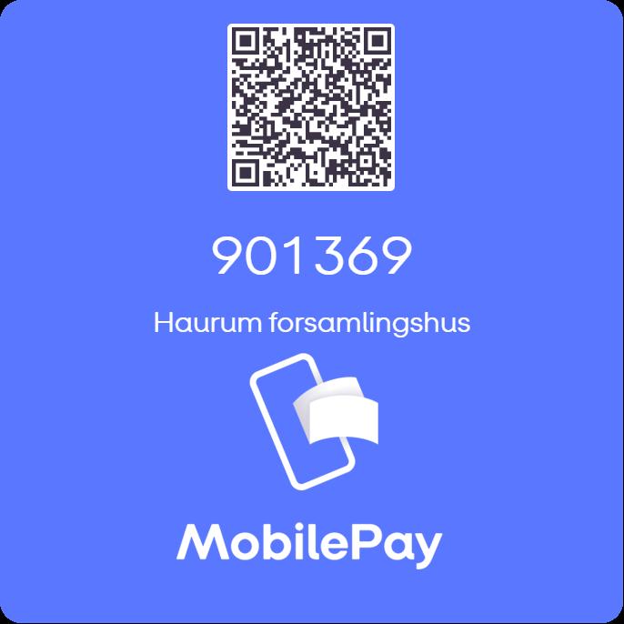 haurum forsamlingshus mobilepay